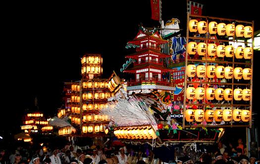 祇園祭の夜