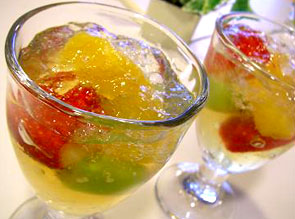 Fruit gelee