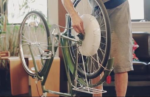 モーターハブ付きホイール FlyKly Smart Wheel