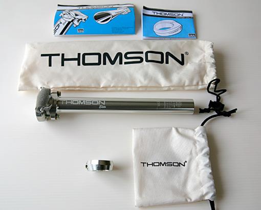 THOMSON(トムソン)のシートポストとクランプ