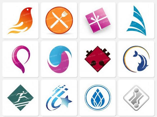 ロゴマルシェのロゴサンプル