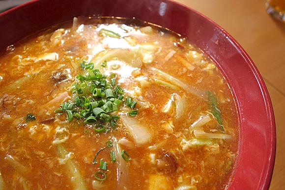 かなみ屋 酸辣湯麺