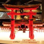 レゴで作られた厳島神社