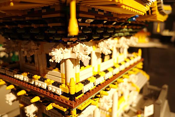 日光東照宮 陽明門のレゴ