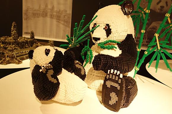 四川ジャイアントパンダのレゴ