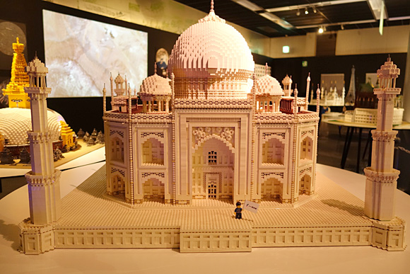 インドのタージ・マハルのレゴ