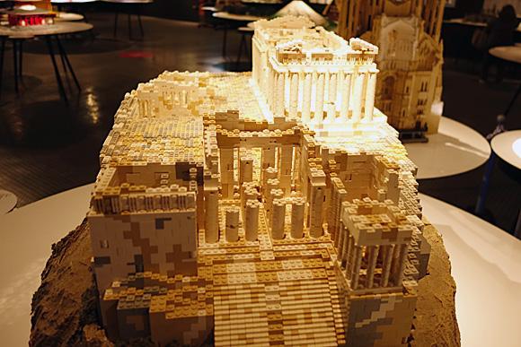 アテネのアクロポリスのレゴ