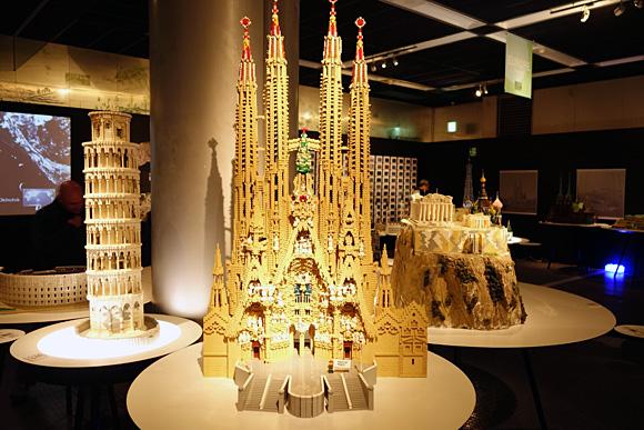 スペインのサグラダファミリアのレゴ