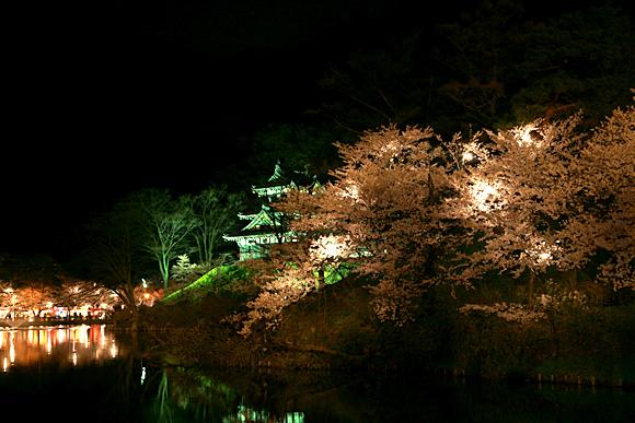 高田公園の高田城三重櫓