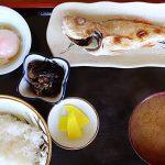 岩舟荘別館のノドグロ焼定食