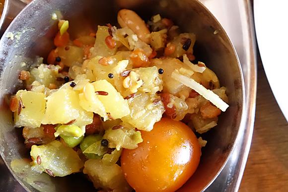 ジャガイモのカレー