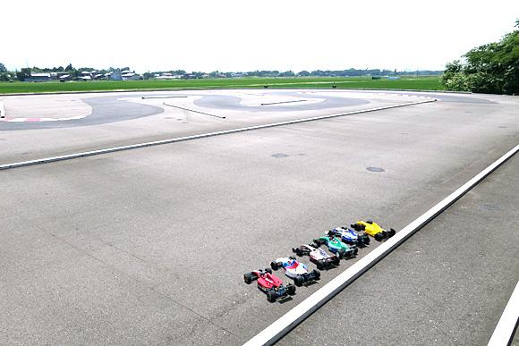 新潟聖籠トップスピードF1レース