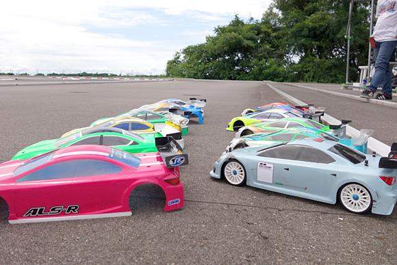 聖籠トップスピードTCレース2017第6戦参加車両