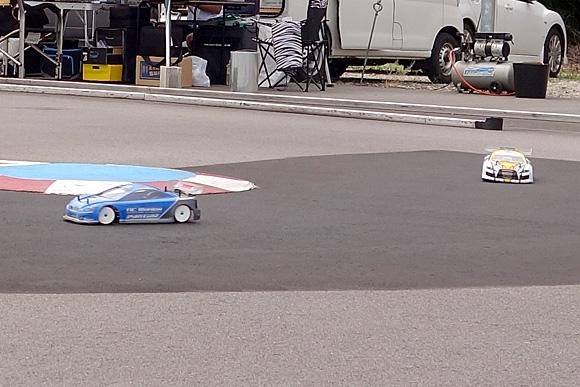 聖籠トップスピードTCレース2017第6戦レース風景1