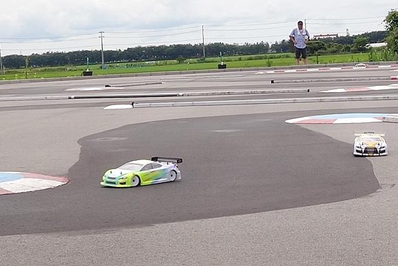 聖籠トップスピードTCレース2017第6戦レース風景2