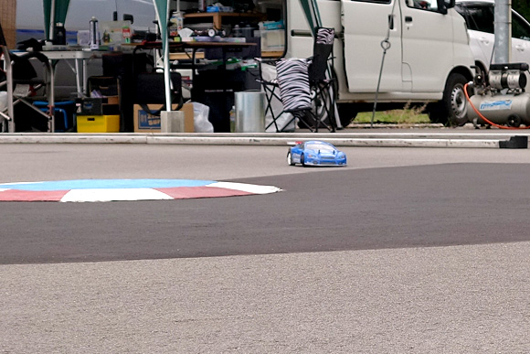 聖籠トップスピードTCレース2017第6戦レース風景6