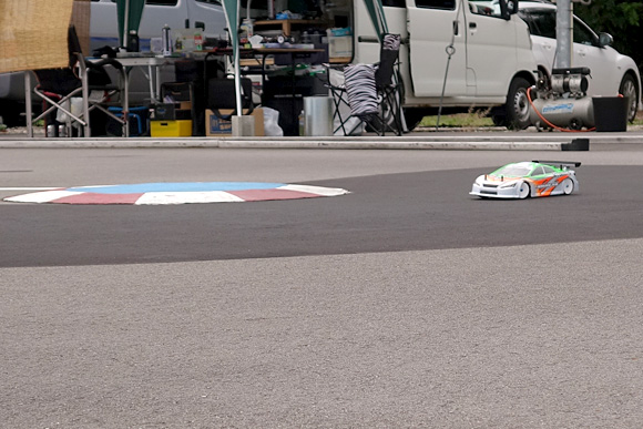 聖籠トップスピードTCレース2017第6戦レース風景9