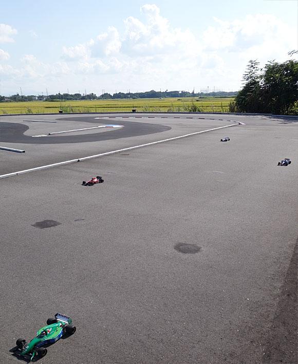 新潟聖籠「トップスピード」RC F1レース第9選