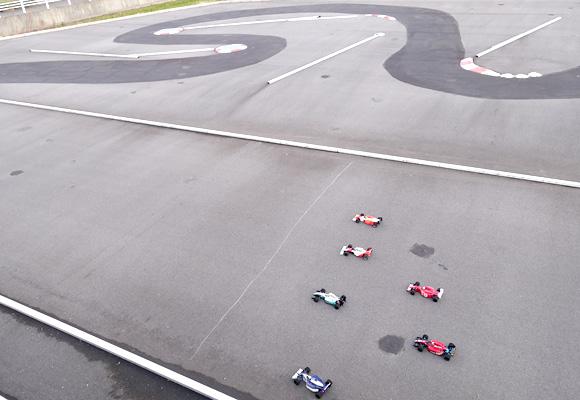 トップスピード2017 F1レース予選スタート前